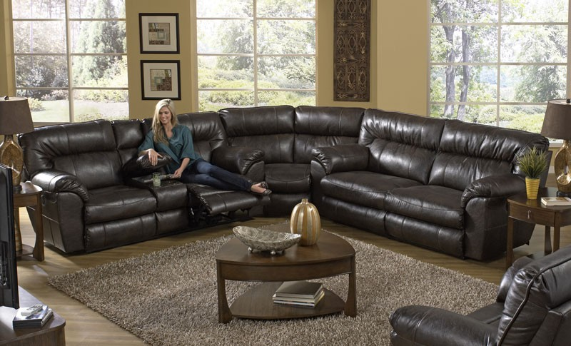 Sofa sectionnel inclinable 3 pièces Nolan - Living Ro
