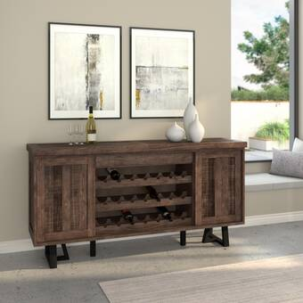 """Stephen 72 """"Wide Pine Wood Credenza & Commentaires 