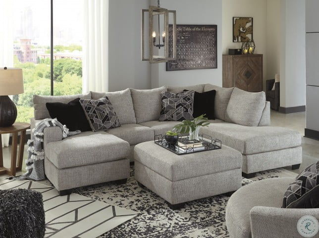 The Megginson Storm LAF Sofa Chaise, RAF Corner Chaise Sectional.