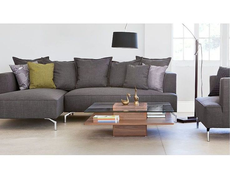 Sofa sectionnel Kennedy |  Canapés sectionnels Kennedy (anthracite).