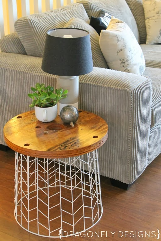 Table d'appoint moderne bricolage