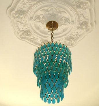 Wow Factor: Lustres turquoise |  Lustres verts, turquoise.