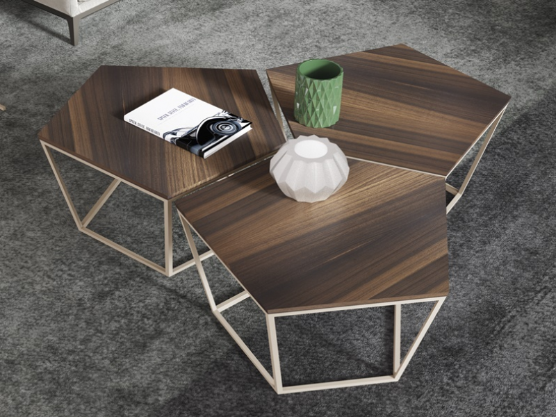 Tables basses modulaires